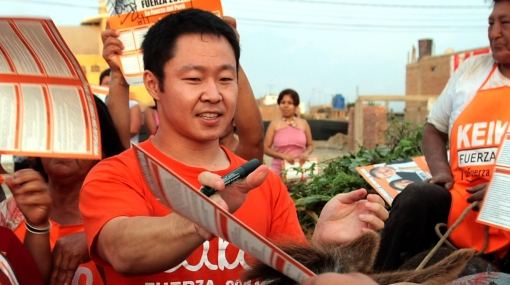 Kenji Fujimori no descarta postular a la Presidencia de la República