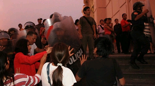MHOL exigió sanción para oficial que ordenó intervención contra gays