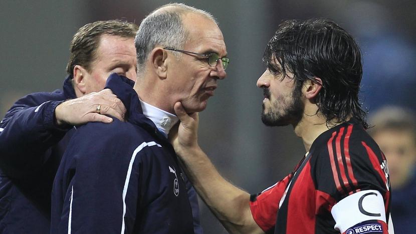 Gattuso armó un escándalo tras derrota del Milan