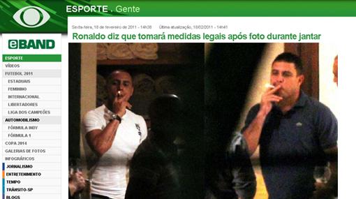 Estas fotografías molestaron a Ronaldo: anunció medidas legales
