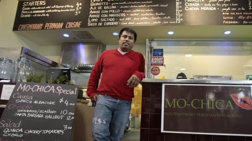 Un peruano compite por ser el mejor chef en Estados Unidos