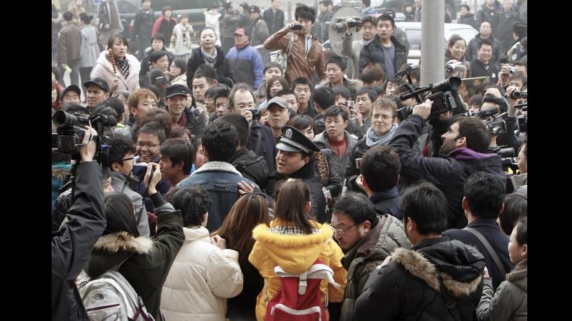 Protestas en China se inspiran en las revueltas en Oriente Medio