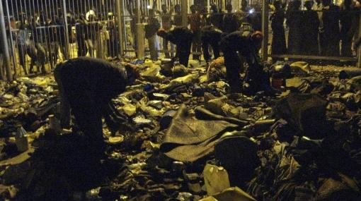 Estampida humana mató a 36 fieles musulmanes en ceremonia religiosa