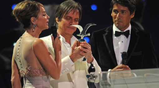 Roberto Carlos y Yuri hicieron vibrar a sus fans en Viña del Mar