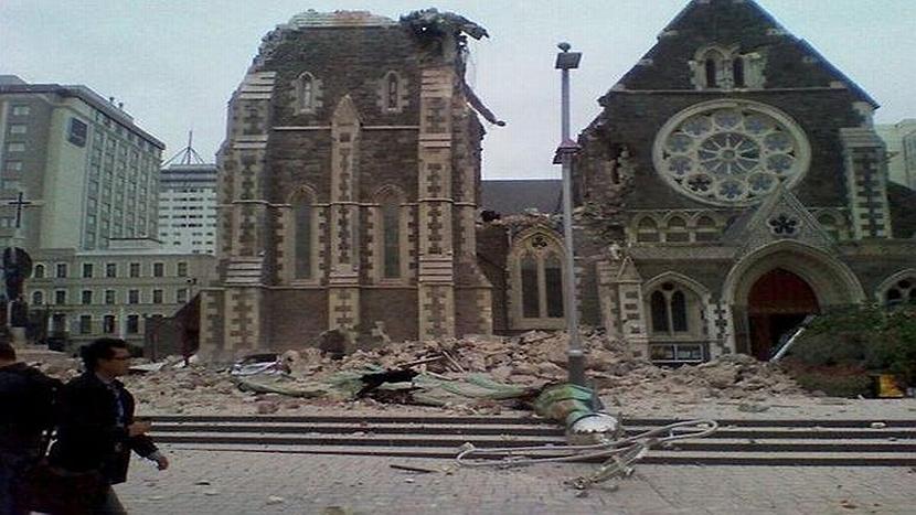 Tuiteros comparten fotos de la destrucción en Nueva Zelanda