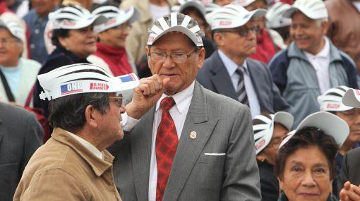 Aumentan en 25 soles pensión de jubilados del régimen 20530
