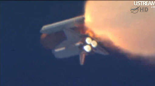 El transbordador Discovery partió al espacio para su última misión