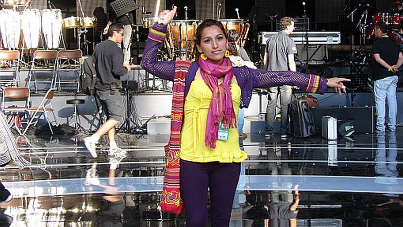 FOTOS: Fritzia Hualpa conquistó a la prensa chilena en Viña del Mar