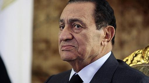 Egipto congeló cuentas de Hosni Mubarak y de su familia