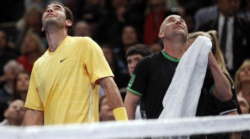 Rivalidad eterna: Sampras derrotó a Agassi en juego de exhibición