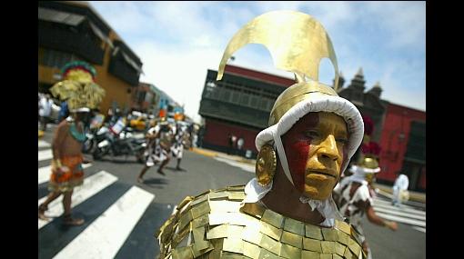 Pasacalle dio inicio a las fiestas por la semana jubilar de Trujillo