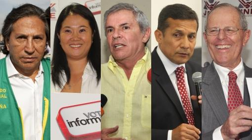 Lo que dijeron los principales candidatos tras el debate en El Comercio