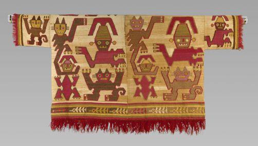 FOTOS: muestra de túnicas peruanas del año 400 a.C. en Nueva York