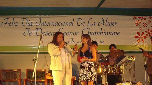 Nataniel Sánchez fue distinguida en el Día Internacional de la Mujer