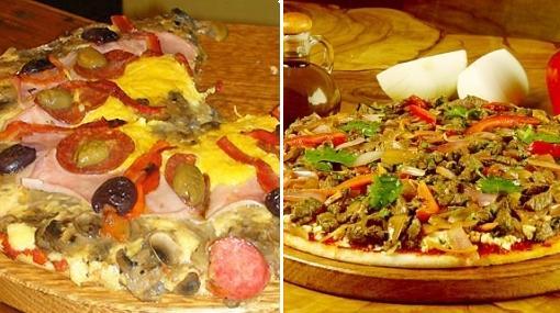 Ají de gallina y lomo saltado, los platos que se convirtieron en pizzas