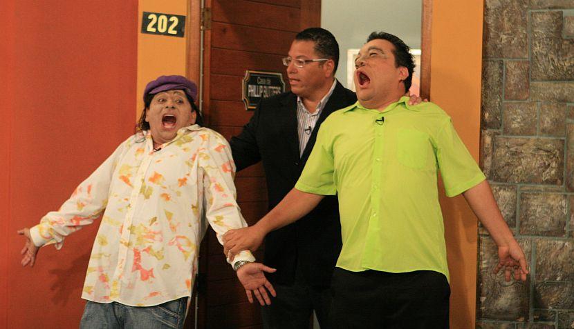 """FOTOS: """"El especial del humor"""" parodió el """"encuentro"""" de Phillip Butters con 'Paolín' y 'Kenyi'"""