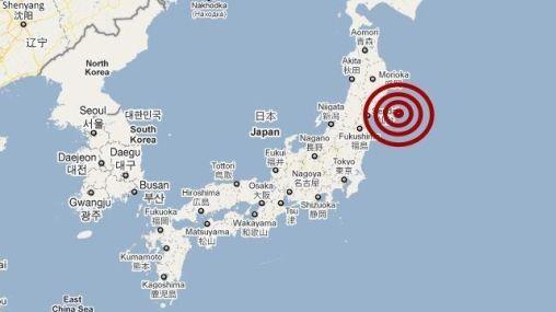 ¿Cuáles fueron las zonas de Japón más afectadas por el terremoto?