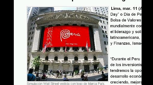Wall Street se pintó de rojo y blanco