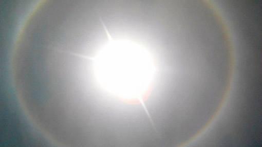 ¿Qué produjo el halo solar en el cielo limeño?