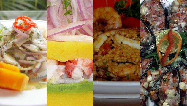 Los platos que los peruanos piden cuando van a una cebichería