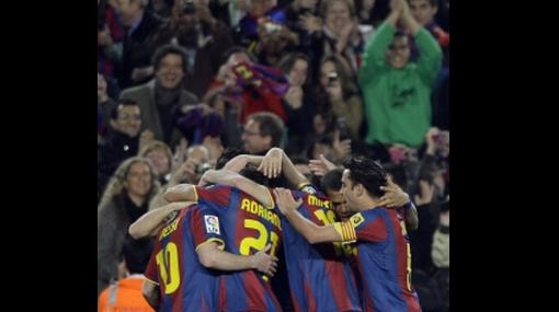 Para ti, Abidal: Barcelona venció 2-1 al Getafe