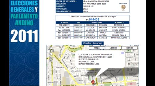 A tu servicio: entérate dónde te toca votar y ubica el lugar en el mapa