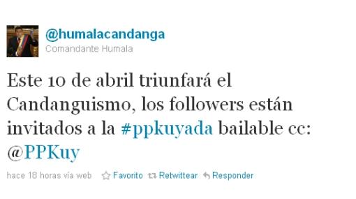 Crean cuentas de Twitter que caricaturizan a PPK y Humala