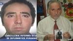 Muerte de diplomático peruano desaparecido en Moscú fue accidental - Noticias de sergio del castillo cebreros