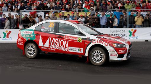 Fuchs se salió de la pista y perdió posiciones en el Rally de Portugal