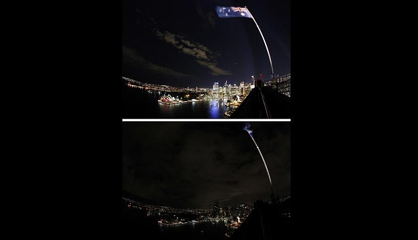 """FOTOS: """"La hora del planeta"""" ya se vive en el mundo"""