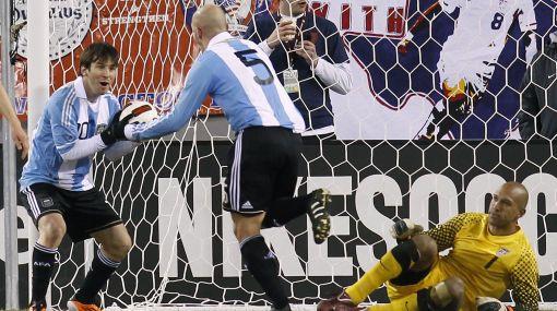 Argentina empató 1-1 con Estados Unidos en partido amistoso