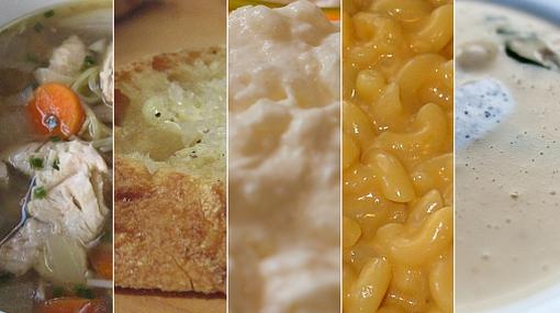 Cuando estás enfermo, ¿qué comida te hace sentir mejor?