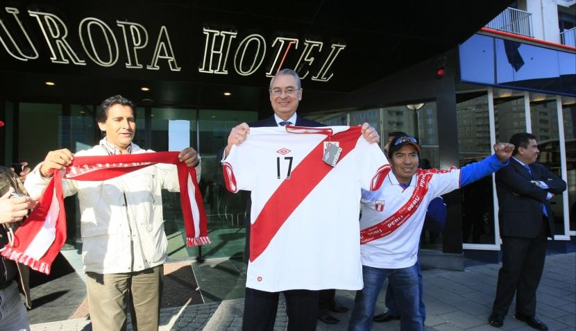 FOTOS: las mejores imágenes de la selección peruana en La Haya
