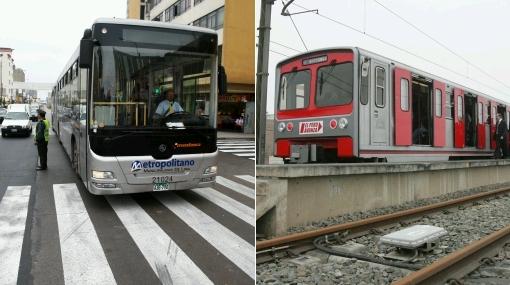 Segunda vía del Metropolitano sería 10 veces más barata que Tren Eléctrico
