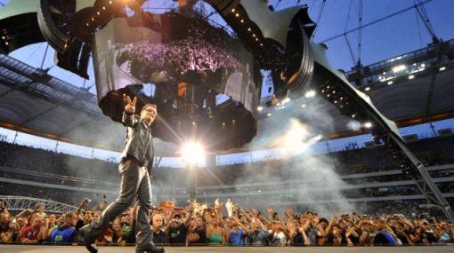 U2 hizo delirar a cerca de 60 mil personas en La Plata