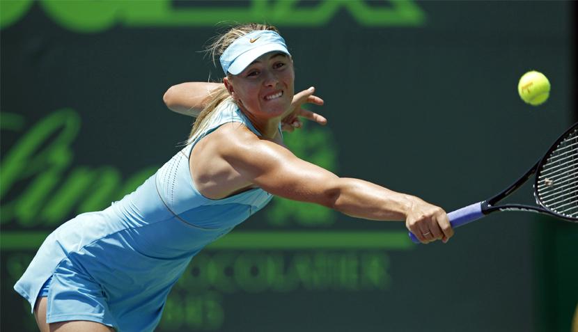 FOTOS: María Sharapova acabó con los bailes de Petkovic en el Masters 1000 de Miami