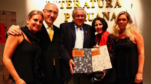 El Geniograma de El Comercio celebró sus 50 años con un libro