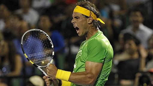 Nadal venció 2-0 a Federer y jugará la final de Miami ante Djokovic