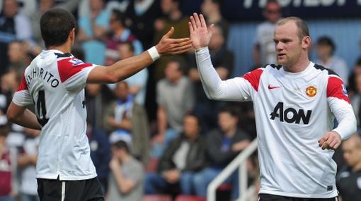 'Chicharito' aseguró que Rooney es mejor que Messi y Cristiano Ronaldo