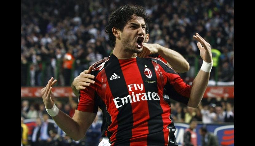 FOTOS: la novia de Pato celebró el triunfo del Milan