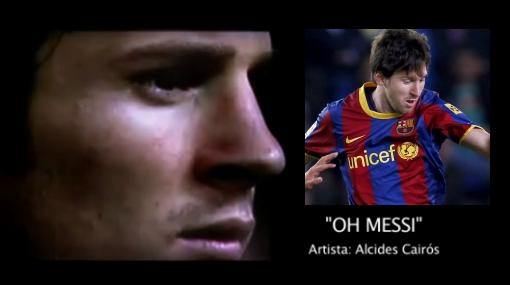 VIDEO: escucha la última canción dedicada a Lionel Messi