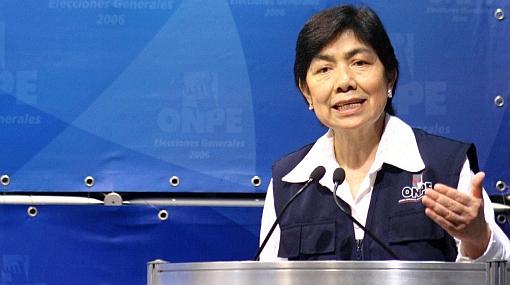 """Jefa de la ONPE: """"Elecciones complementarias se desarrollaron con normalidad"""""""