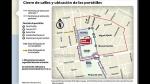 Sepa qué calles están cerradas por el debate presidencial de hoy - Noticias de miguel aljovin