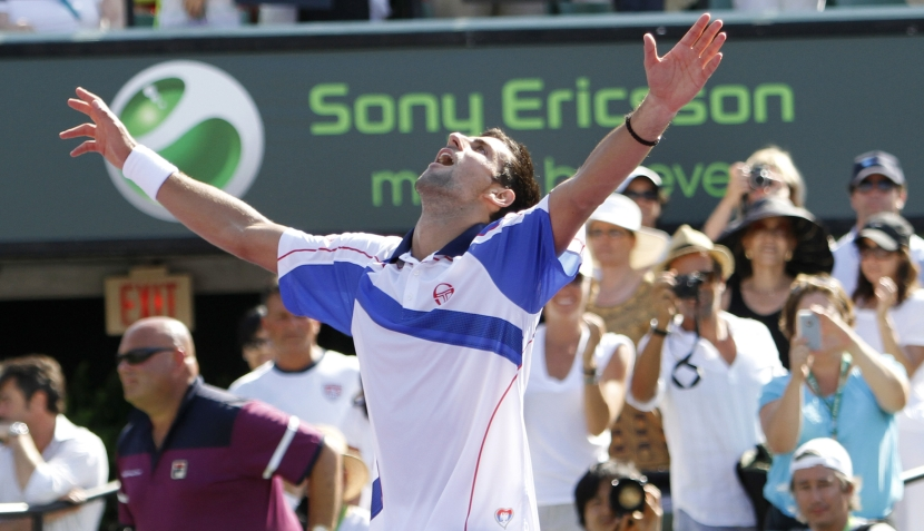FOTOS: los gestos más aberrantes de Djokovic para ganar el Masters de Miami