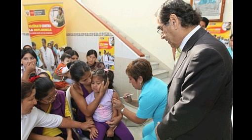 Más de 3 millones serán vacunados contra gripe AH1N1