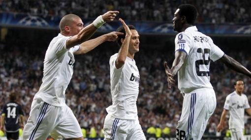Real Madrid no tuvo problemas para golear 4-0 al Tottenham
