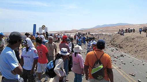 Arequipa suspendió actividades extractivas en Cocachacra