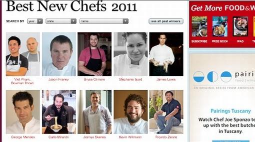"""La revista """"Food & Wine"""" nombró a peruano como uno de los mejores nuevos chefs de EE.UU."""