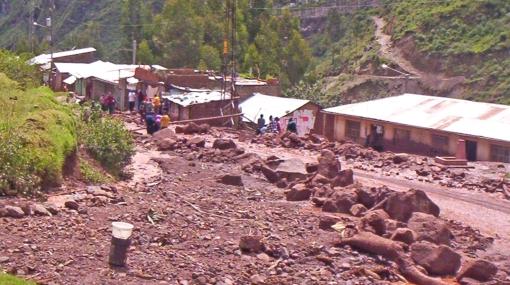 Junín: granizada y fuerte lluvia dejaron 12 casas destruidas