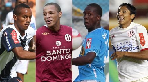 André Carrillo, Jesús Rabanal y otros exportables del fútbol peruano